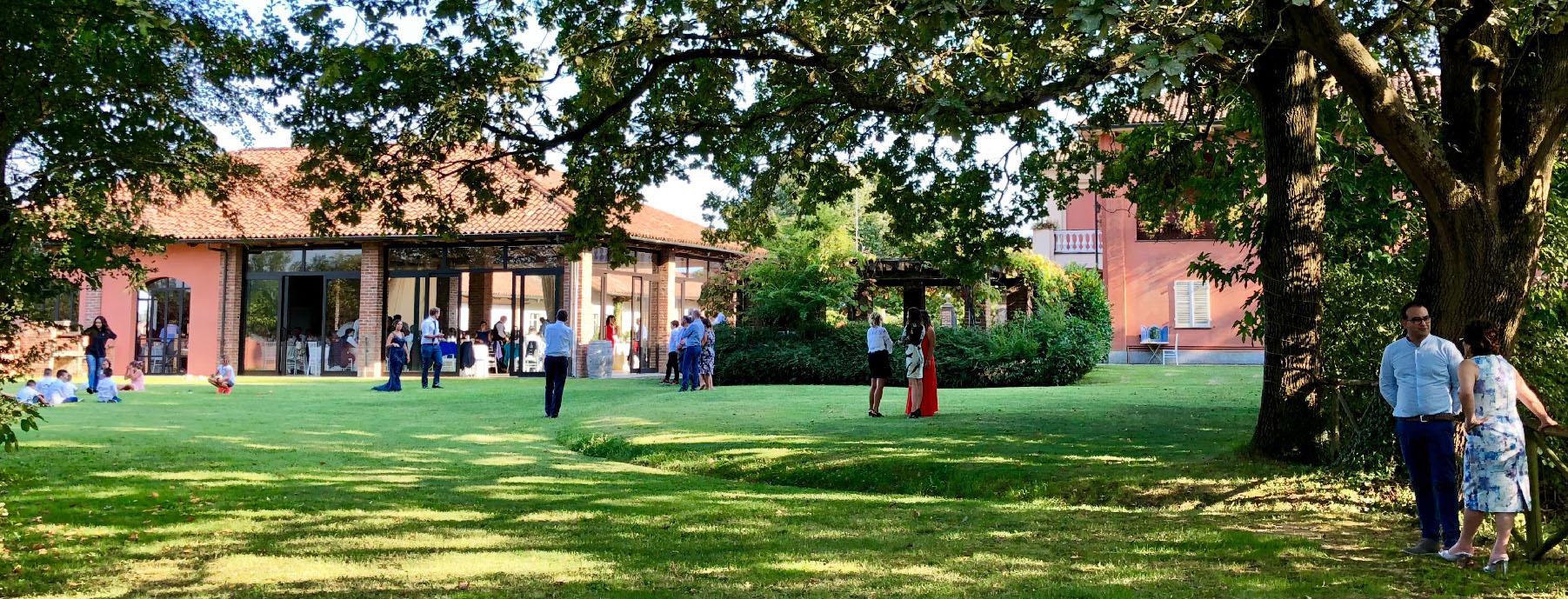 Villa Fiorita accoglierà gli invitati per il tuo matrimonio.