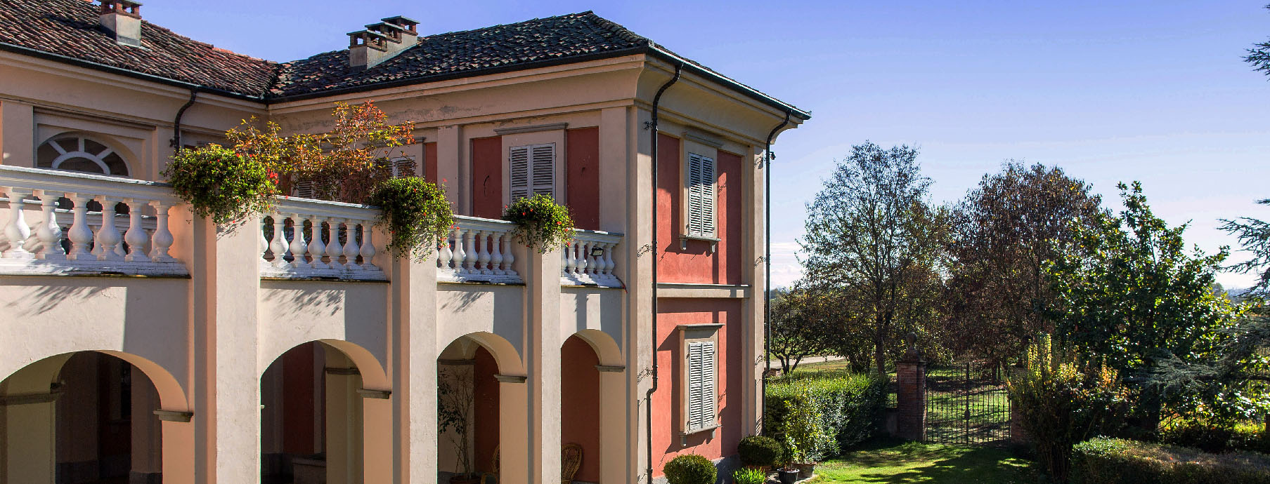 Veduta di Villa Fiorita.